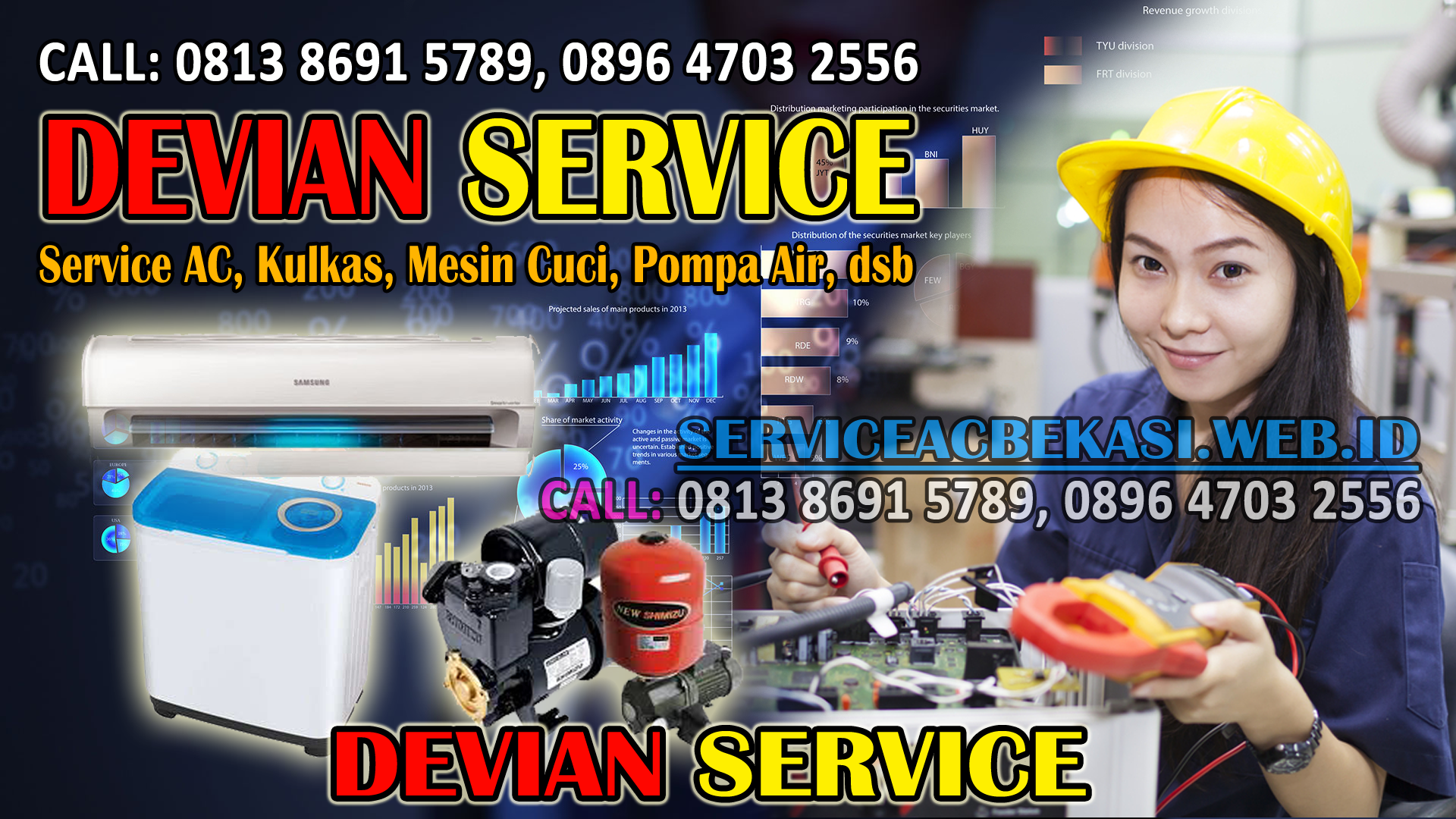 Jasa Service Mesin Cuci di Bekasi